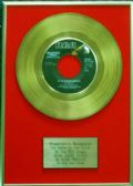 Elvis Presley - 24 Carat Gold 7 inch Disc - Blue Suede Shoes (For USA Sales) …